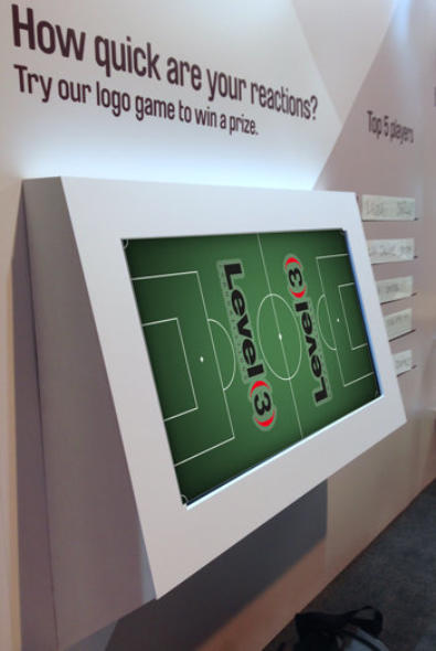multitouch games hire